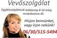 bútor webáruház vevőszolgálata: h-p:8-16, tel:06/30/515-5494
